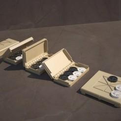 Download free 3D printer designs Morris Game Box Collection, Zippityboomba