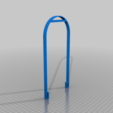 Hanger_V2.png Télécharger fichier STL gratuit Peintre au pendule • Plan imprimable en 3D, Zippityboomba