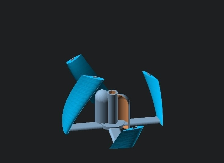 3bba550a28e6ebd4e3248fe60240479c_display_large.jpg Download free STL file Vertical Wind Turbine - Parametric • 3D printing model, Zippityboomba