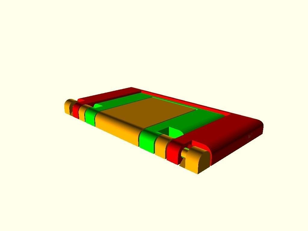 510a6e3c602bdbd37c691aa6940ab443_display_large.jpg Download free STL file Parametric Folding Phone Stand • 3D printing design, Zippityboomba