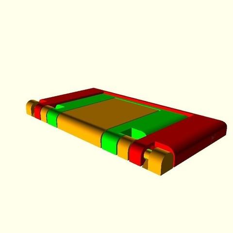 510a6e3c602bdbd37c691aa6940ab443_display_large.jpg Télécharger fichier STL gratuit Support de téléphone paramétrique pliable • Plan pour impression 3D, Zippityboomba