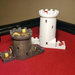 Download free 3D printer designs Double Helix Dice Tower, Zippityboomba