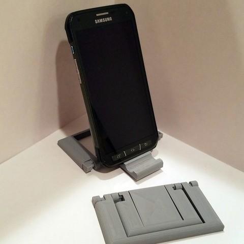943c59d6f2c8b6b01bec01e89234fd1d_display_large.jpg Download free STL file Parametric Folding Phone Stand • 3D printing design, Zippityboomba