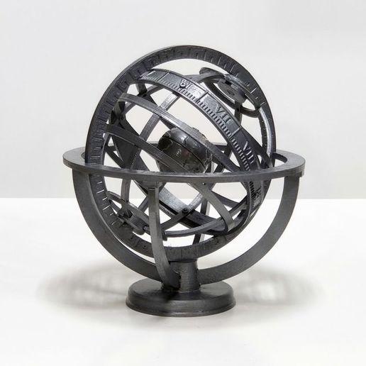 IMG_20201012_143405.jpg Descargar archivo STL gratis Esfera Armiliar • Diseño para imprimir en 3D, Zippityboomba