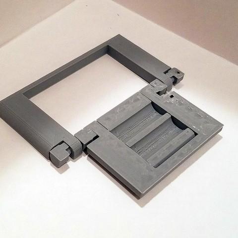 303c4a9c1a54aa4a272b6f7e95af8b27_display_large.jpg Download free STL file Parametric Folding Phone Stand • 3D printing design, Zippityboomba