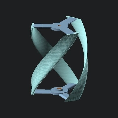 786b2202b8646c660d2cec7c14f472b2_display_large.jpg Download free STL file Vertical Wind Turbine - Parametric • 3D printing model, Zippityboomba