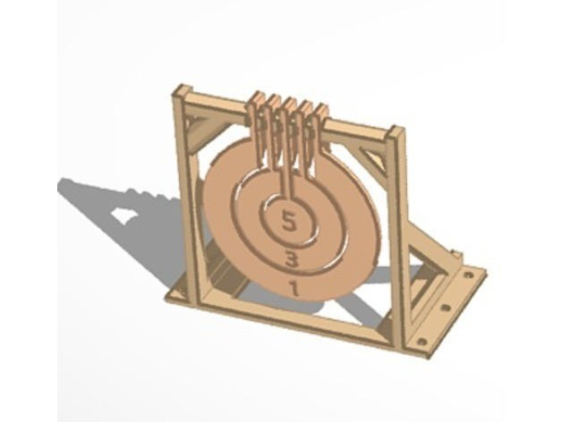 3b66fafe4ff92fd3f148e0c804b845fc_preview_featured.jpg Download free STL file Print-in-place target spinners • 3D print model, Zippityboomba