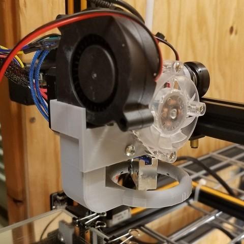 Download free 3D model Titan Aero + Volcano Cooler, Zippityboomba