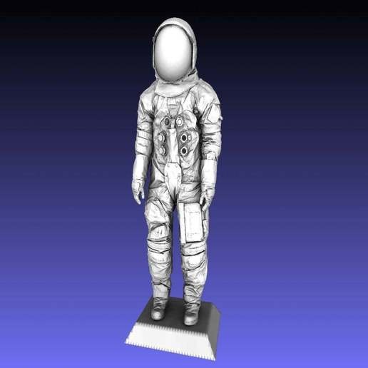 Download free 3D printer model Armstrong Space Suit, Zippityboomba