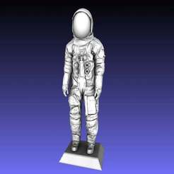 Download free STL file Armstrong Space Suit • Template to 3D print, Zippityboomba