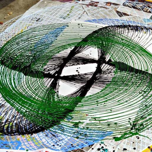 IMG_20200711_165755.jpg Télécharger fichier STL gratuit Peintre au pendule • Plan imprimable en 3D, Zippityboomba