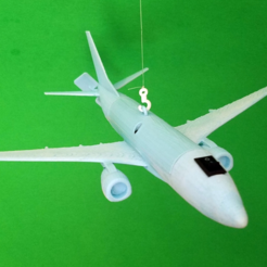 Free 3D printer model Boeing 737 Ceiling Flyer, Zippityboomba