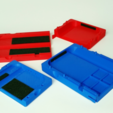Capture d'écran 2017-04-12 à 09.43.04.png Download free STL file Switchbox - Travel Case for Nintendo Switch • 3D printable object, Zippityboomba
