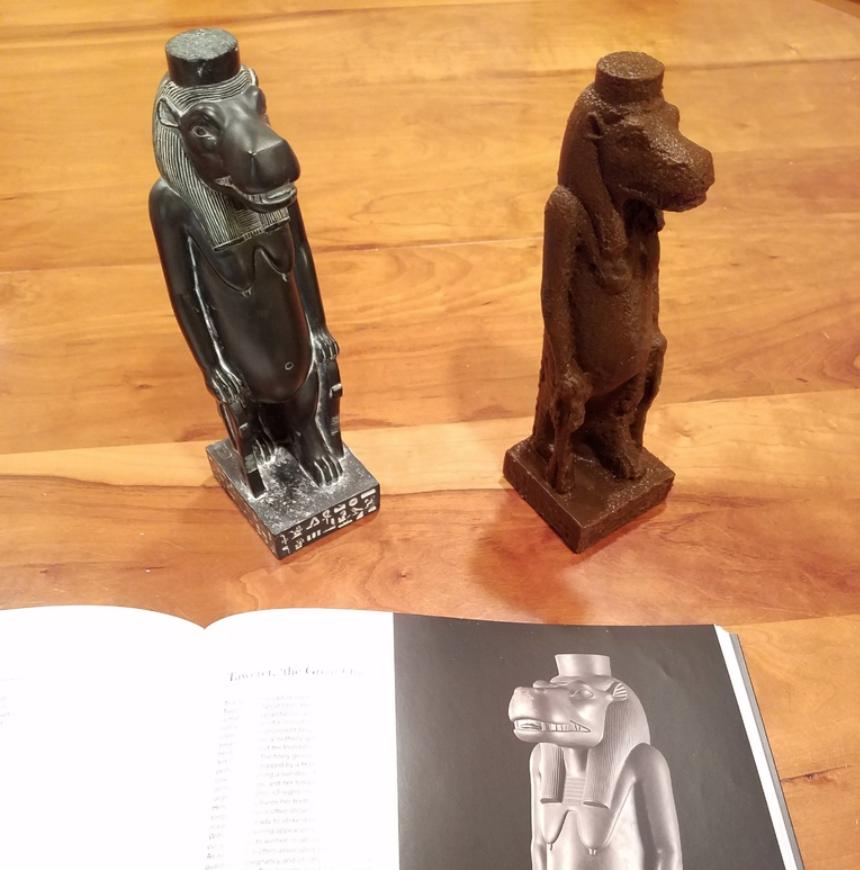 Capture d'écran 2018-01-16 à 09.37.07.png Download free OBJ file Taweret sculpture scan • 3D printer object, Zippityboomba