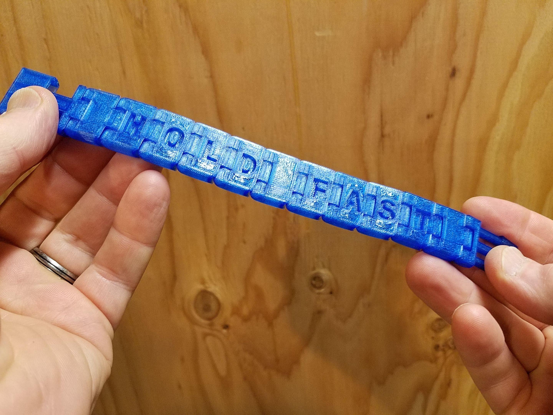 20191130_174441.jpg Download free SCAD file Customizable Bracelet • 3D print model, Zippityboomba