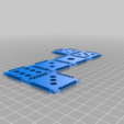 Download free STL file Flat print, folding dice • 3D printing template, Zippityboomba