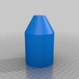 Pot_V2_Single_Hole.png Télécharger fichier STL gratuit Peintre au pendule • Plan imprimable en 3D, Zippityboomba