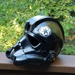 Download free 3D printing designs Tie Fighter Pilot Remix - Large Printers Only, Zippityboomba