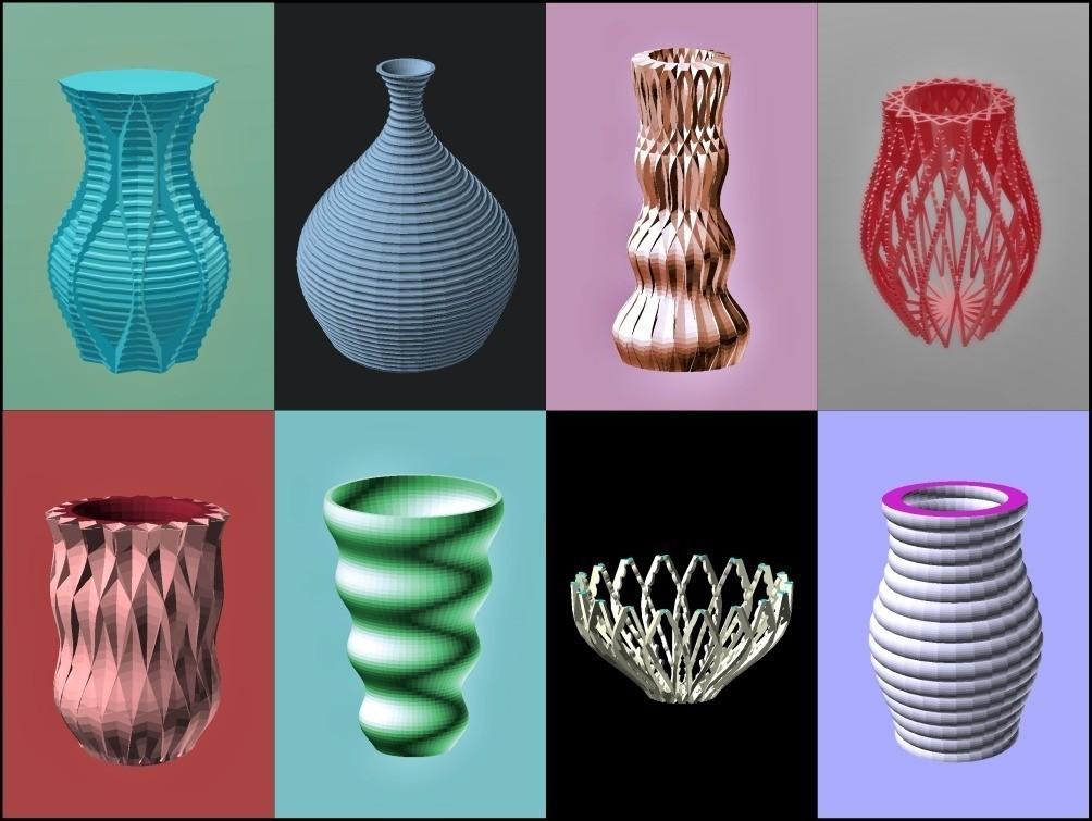 efaa8bbe1b4aa36ed4d19a4916fe99ed_display_large.jpg Download free STL file Reasonable Vases • 3D printer design, Zippityboomba
