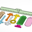 Free 3D file Swappable Butterfly Tools, Zippityboomba