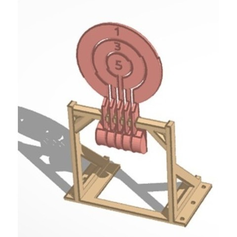 a9e789c8ca9f2810f2033433ed6c8831_preview_featured.jpg Download free STL file Print-in-place target spinners • 3D print model, Zippityboomba