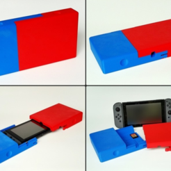 Descargar diseños 3D gratis Switchbox - Travel Case para Nintendo Switch, Zippityboomba