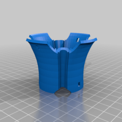 Kusari_Doi_2.png Télécharger fichier STL gratuit Kusari Doi - Chaîne de pluie japonaise • Plan imprimable en 3D, Zippityboomba