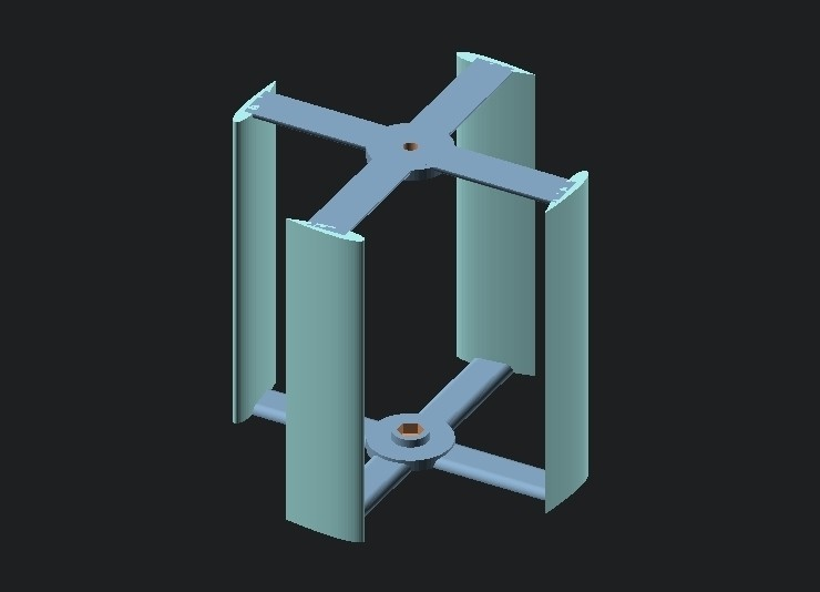 4ad0646c52e66c0161ae7b7994b00c14_display_large.jpg Download free STL file Vertical Wind Turbine - Parametric • 3D printing model, Zippityboomba