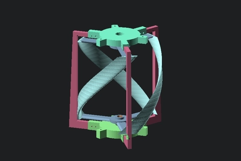fd4a5d0d84d43c51e2d9bfbce709eae0_display_large.jpg Download free STL file Vertical Wind Turbine - Parametric • 3D printing model, Zippityboomba