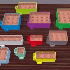 Download free STL files ParaPlanter: Self-Watering Planters, Zippityboomba