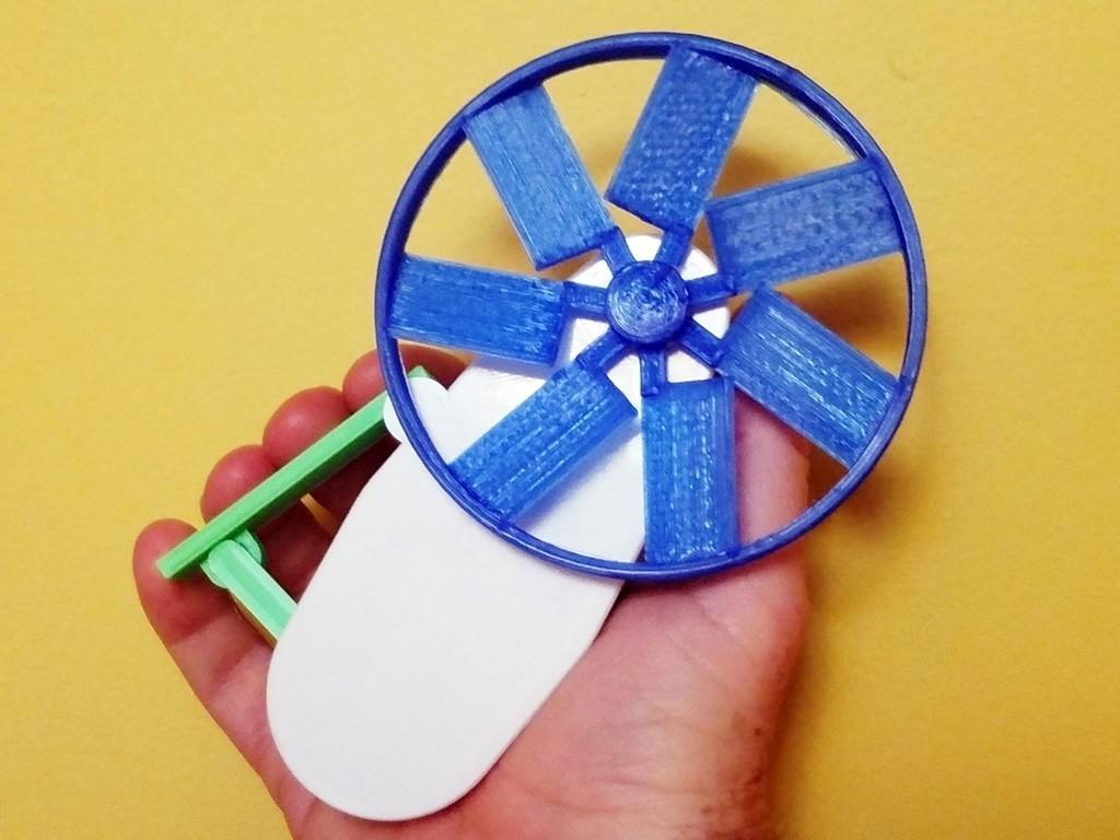 9cff3bc559d2feee2d1ab4cdd579f732_display_large.jpg Télécharger fichier STL gratuit Cool Squeeze - Ventilateur de préhension • Plan imprimable en 3D, Zippityboomba