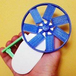 Download free STL file Cool Squeeze - Grip Fan • 3D printing design, Zippityboomba