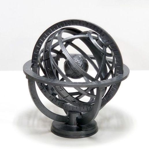 IMG_20201012_143446.jpg Descargar archivo STL gratis Esfera Armiliar • Diseño para imprimir en 3D, Zippityboomba