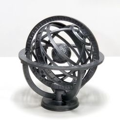 IMG_20201012_143446.jpg Download free STL file Armillary Sphere • 3D printable design, Zippityboomba