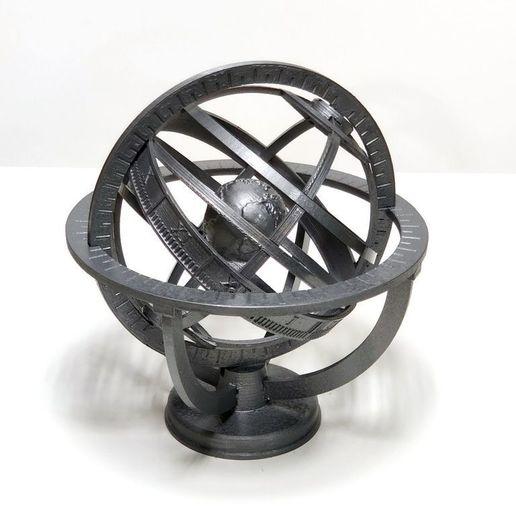 IMG_20201012_143536.jpg Descargar archivo STL gratis Esfera Armiliar • Diseño para imprimir en 3D, Zippityboomba