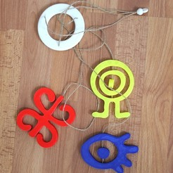 Download free 3D printing models Petroglyph Mobile, Churuata3D