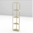Télécharger plan imprimante 3D gatuit Connecteurs de meubles modulaires, Churuata3D