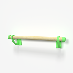 Descargar archivos 3D gratis Kitchen Towel Holder, Churuata3D