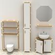 Download free 3D print files Modular Furniture Connectors, Churuata3D