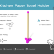 Download free STL file Kitchen Paper Towel Holder • Object to 3D print, Churuata3D