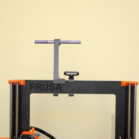 DSC_2177.jpg Télécharger fichier STL gratuit Porte-bobine polyvalent pour Prusa MK2/3 (et cadres d'extrusion 2020)) • Design imprimable en 3D, Stamos