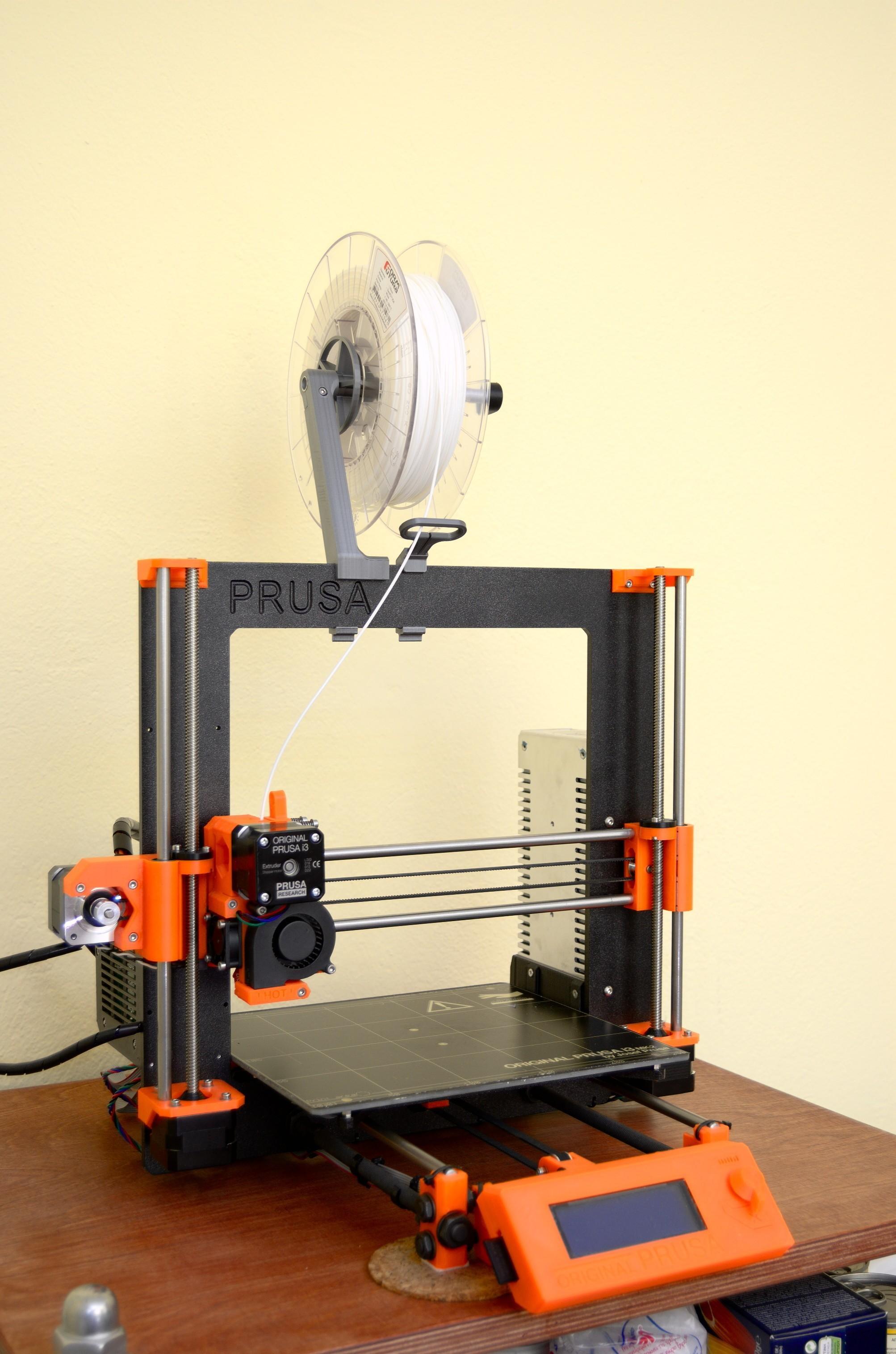 DSC_2179.jpg Télécharger fichier STL gratuit Porte-bobine polyvalent pour Prusa MK2/3 (et cadres d'extrusion 2020)) • Design imprimable en 3D, Stamos