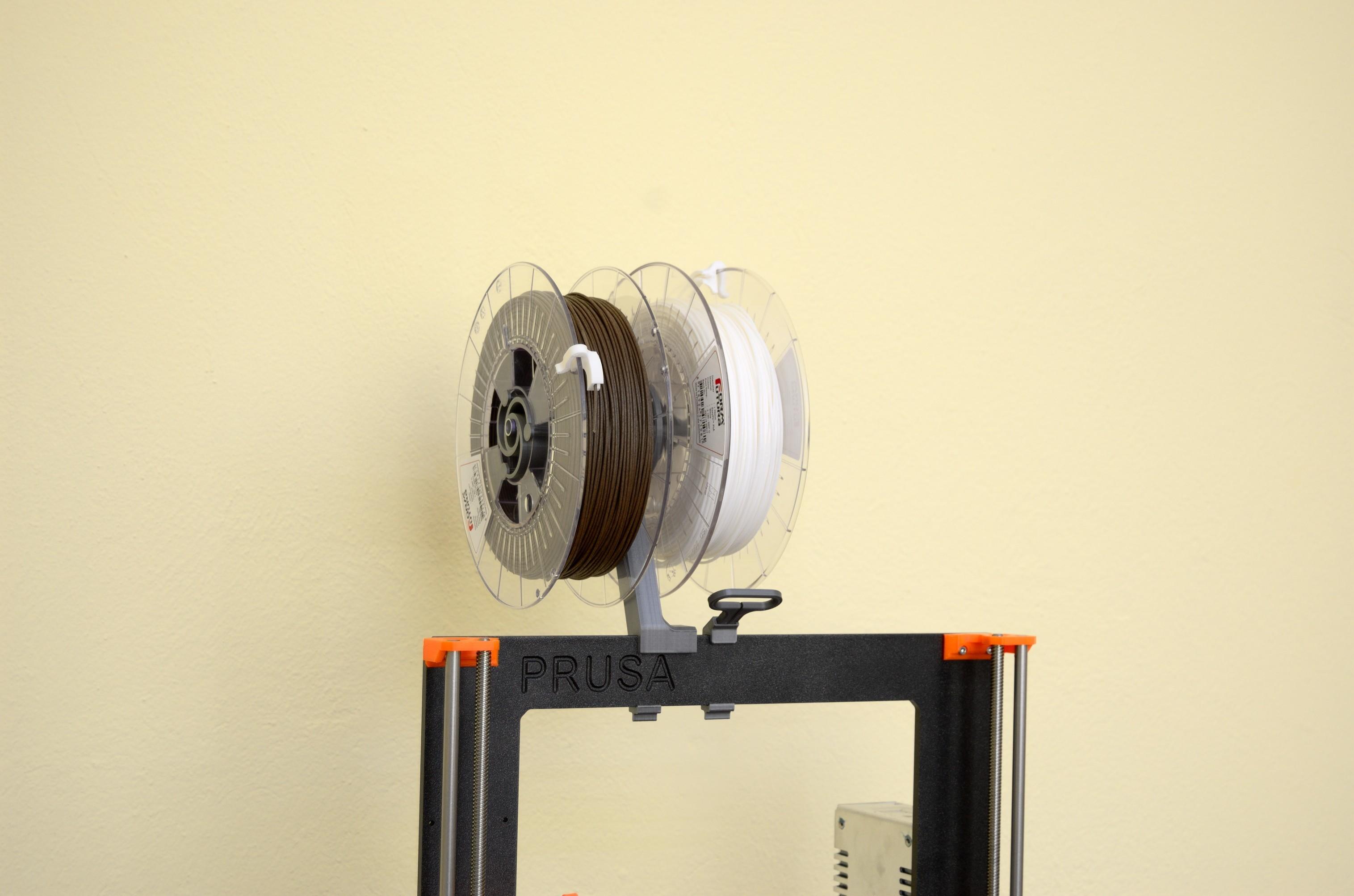 DSC_2176.jpg Télécharger fichier STL gratuit Porte-bobine polyvalent pour Prusa MK2/3 (et cadres d'extrusion 2020)) • Design imprimable en 3D, Stamos