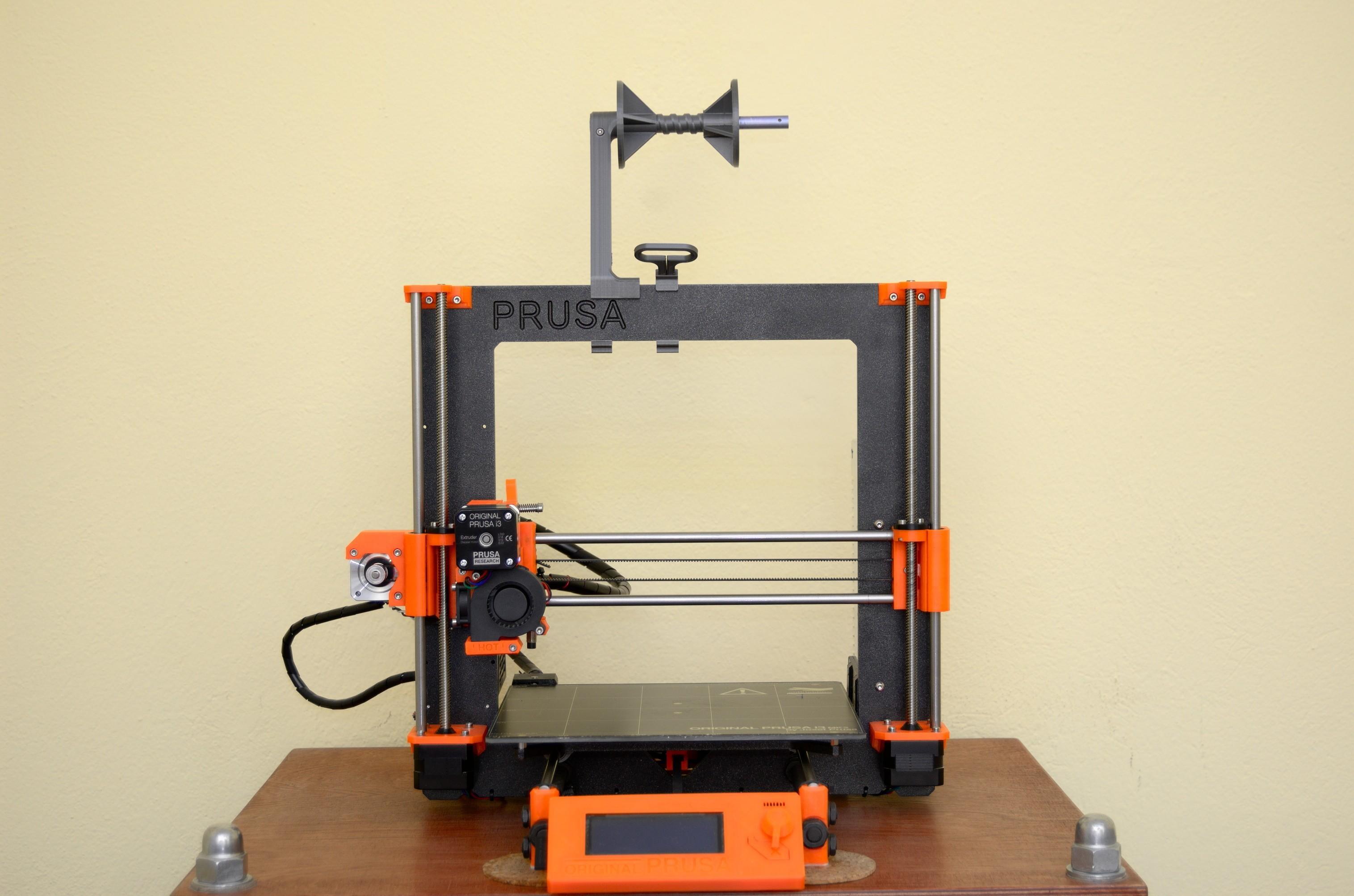 DSC_2181.jpg Télécharger fichier STL gratuit Porte-bobine polyvalent pour Prusa MK2/3 (et cadres d'extrusion 2020)) • Design imprimable en 3D, Stamos