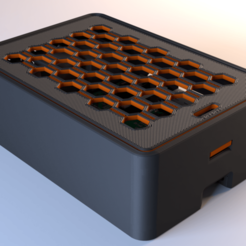 RPi case FFF 1.png Download free STL file Raspberry Pi 3/4/B+ Case  • 3D printable template, Stamos