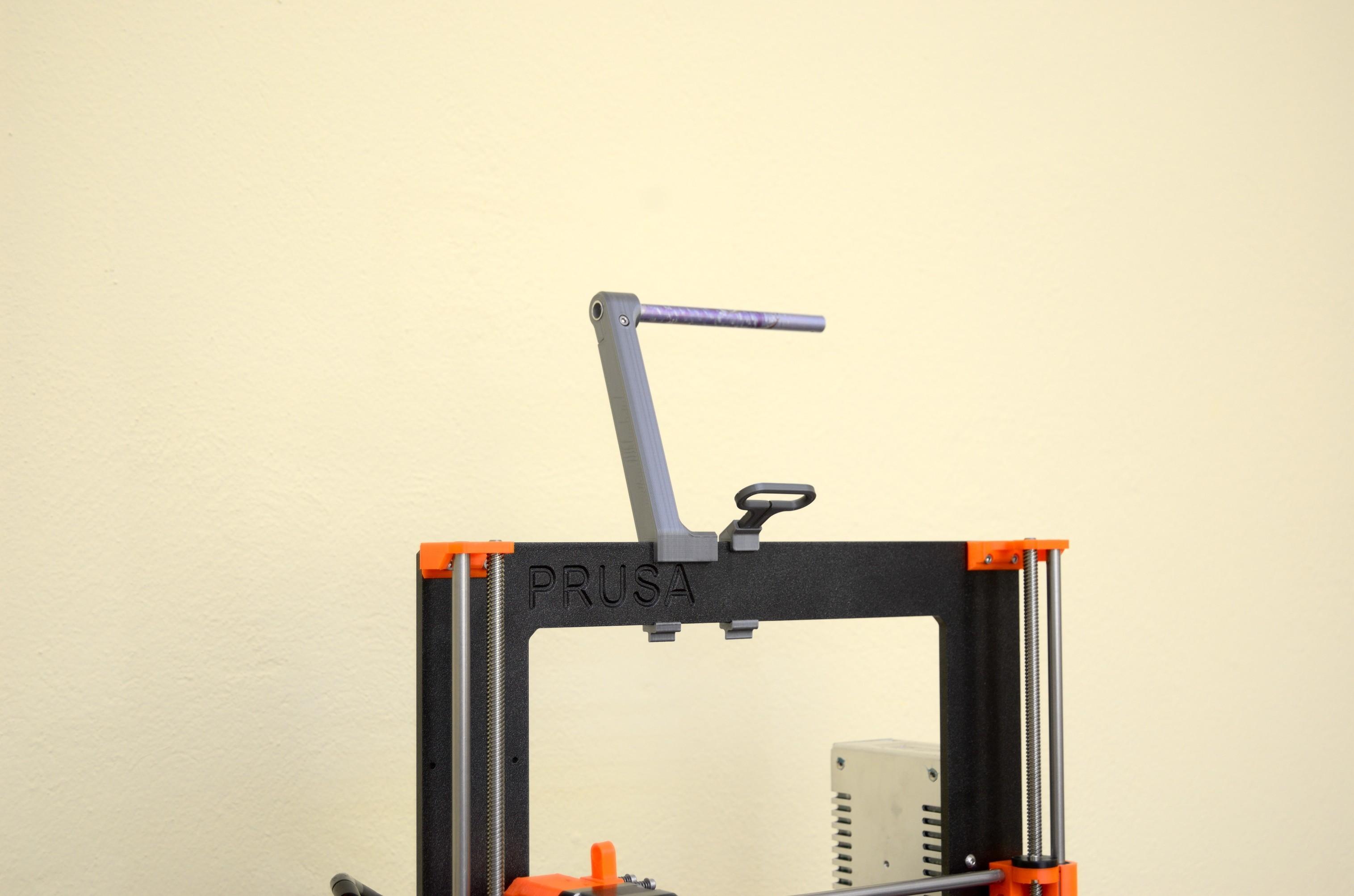 DSC_2174.jpg Télécharger fichier STL gratuit Porte-bobine polyvalent pour Prusa MK2/3 (et cadres d'extrusion 2020)) • Design imprimable en 3D, Stamos