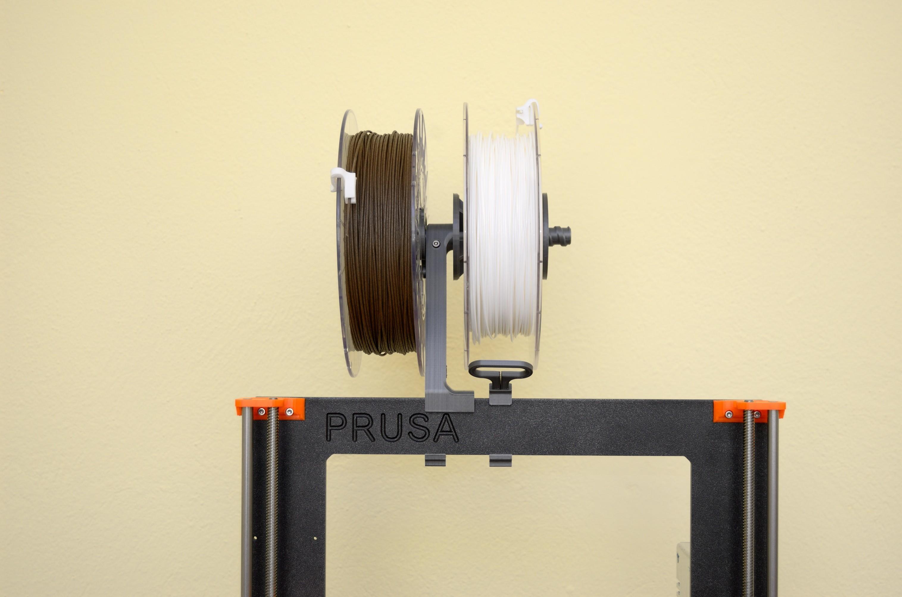 DSC_2175.jpg Télécharger fichier STL gratuit Porte-bobine polyvalent pour Prusa MK2/3 (et cadres d'extrusion 2020)) • Design imprimable en 3D, Stamos