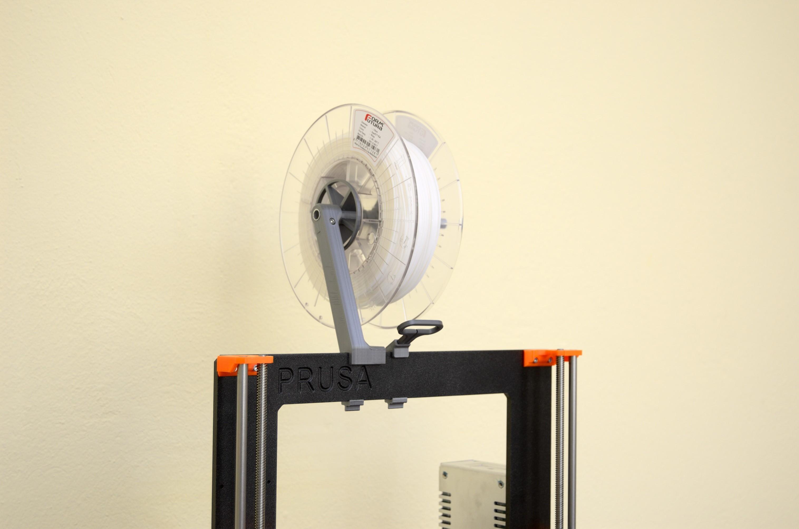 DSC_2173.jpg Télécharger fichier STL gratuit Porte-bobine polyvalent pour Prusa MK2/3 (et cadres d'extrusion 2020)) • Design imprimable en 3D, Stamos