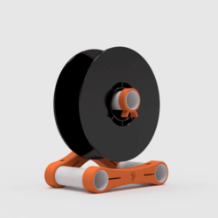 Spool Holder 2.png Download free STL file Spool Holder • 3D printable model, Stamos