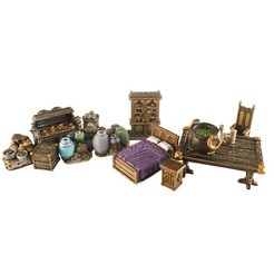 Modelo 3D HG3D Storage & Household Deluxe Bundle - 28mm, Hobgoblin3D